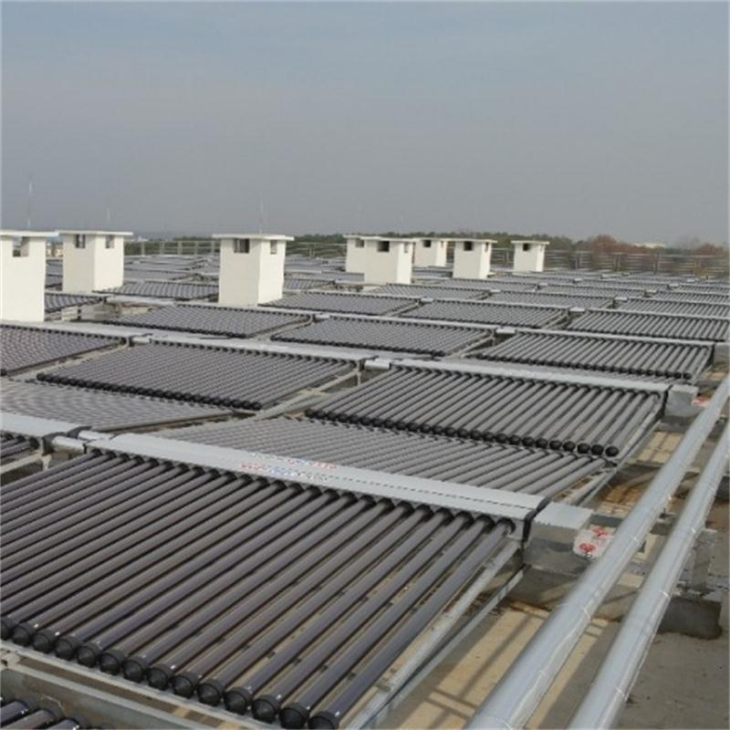 安宁学校3000管工程管、真空管太阳能集热系统