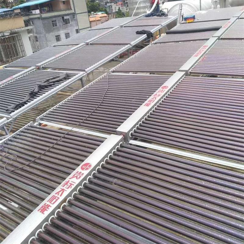 云南金平县宾馆500管太阳能15p空气能