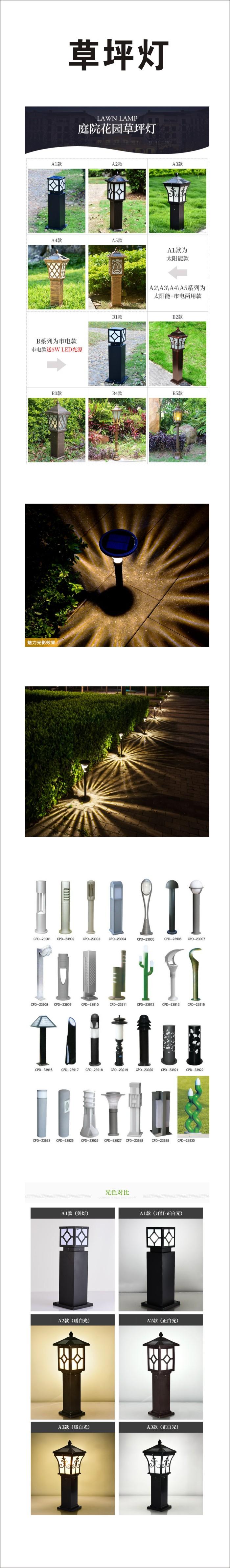 昆明太阳能草坪灯(彝)