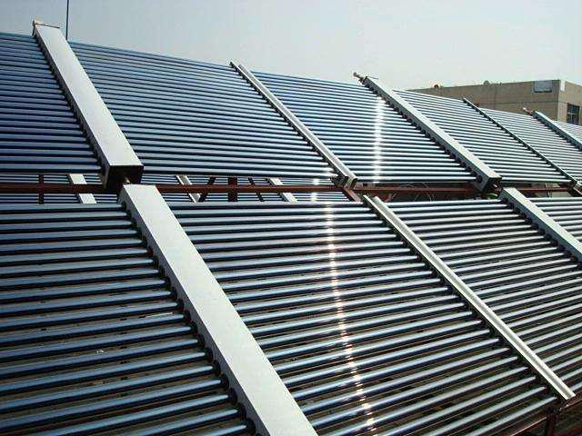 贵州凉山学校600管真空管太阳能集热系
