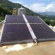 太阳能热水器的工作原理和优点