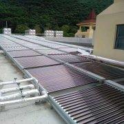 贵标云南宣威羊场太阳能-热泵热水集热工程