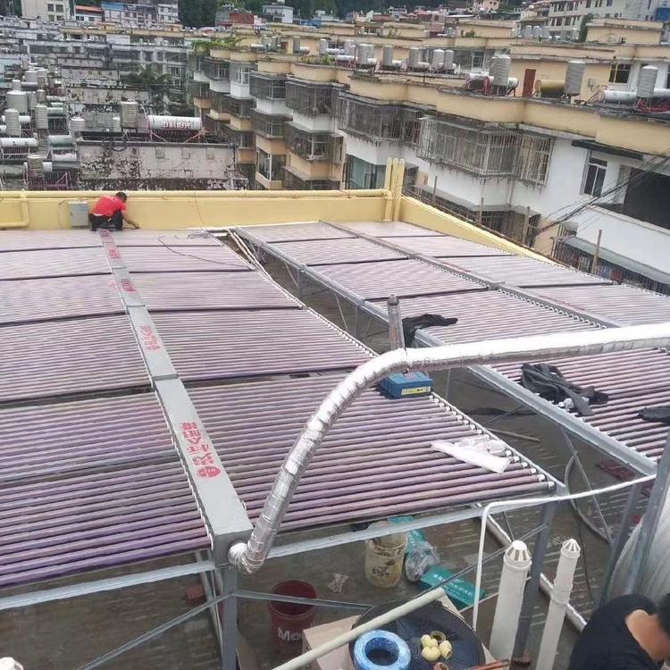 罗平宾馆热水工程