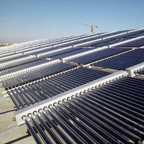昆明香颂15吨太阳能热水工